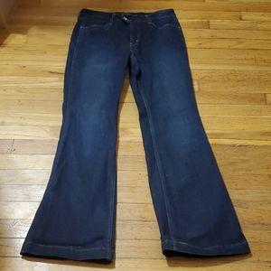 Women's Levi's demo curve classic flare jeans 10